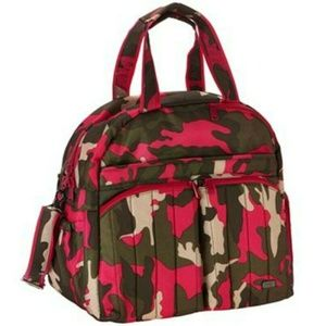 Lug Boxer Overnight Bag - Camo Pink